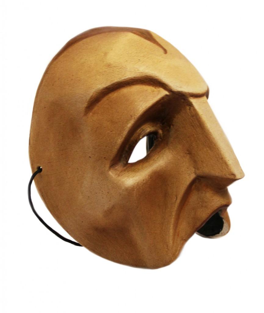 papier mache mask