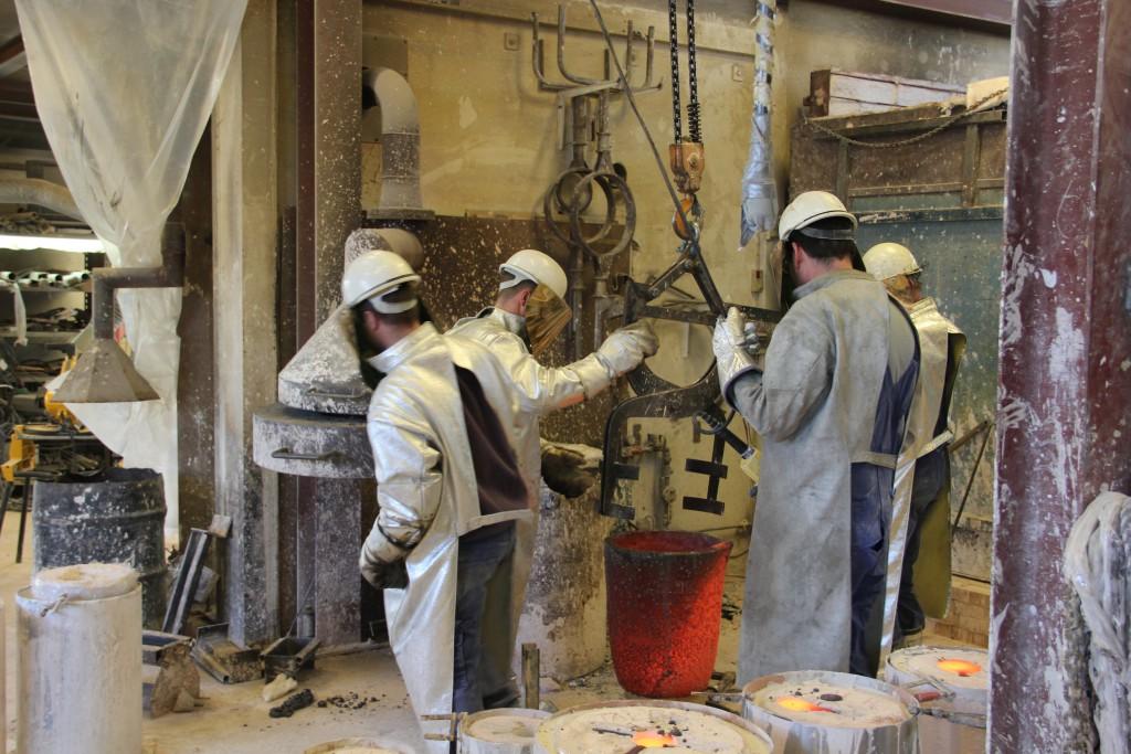 donovan process - bronze casting 01
