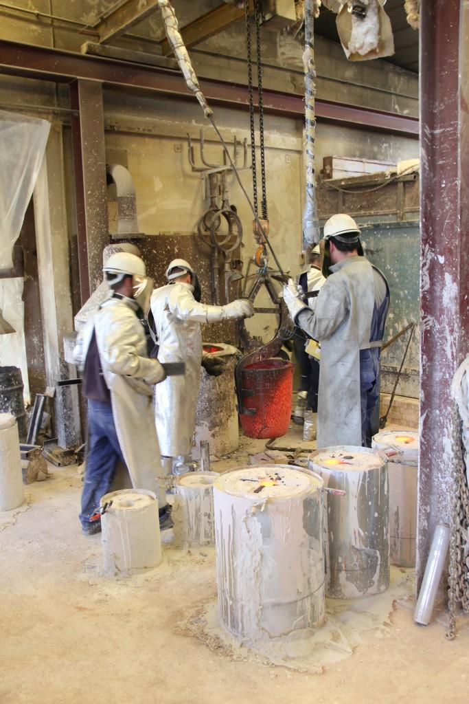 donovan process - bronze casting 02