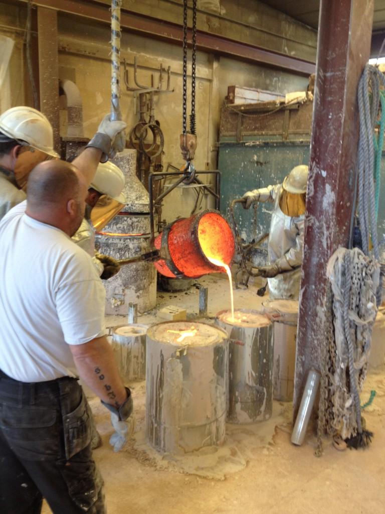 donovan process - bronze casting 03
