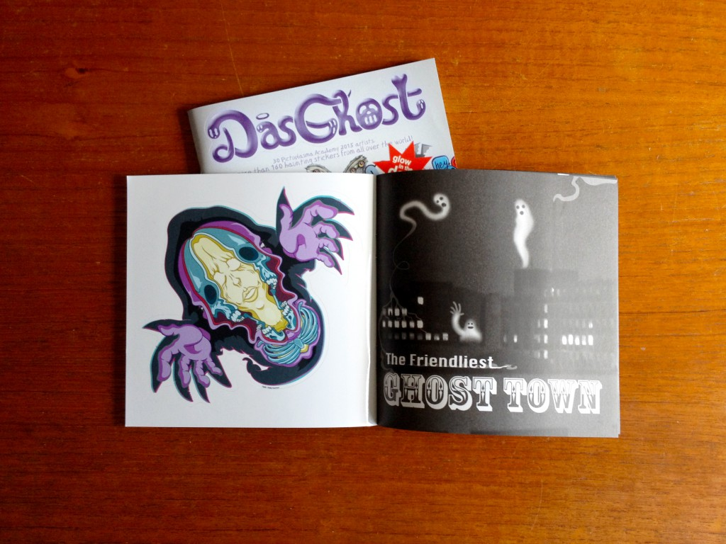 dasghost stickerbook mag presentation